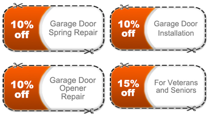 Garage Door Repair Coupons San Diego CA